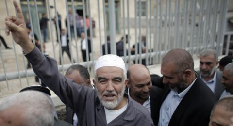 تمديد قرار منع الشيخ رائد صلاح من السفر