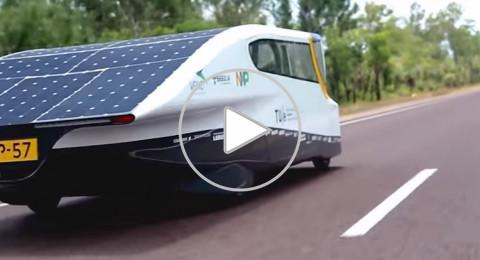 سيارة كهربائية ثورية لا تحتاج إلى شحن بطارياتها