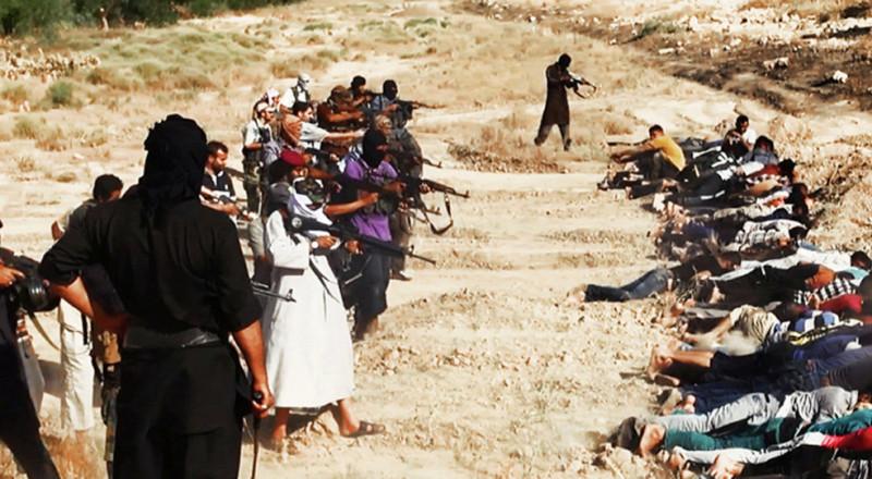 مجزرة جديدة: داعش يعدم 200 تركمانيًا عراقيًا بينهم العشرات الأطفال والنساء!
