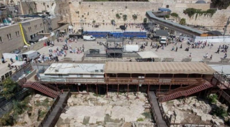 مخطط إسرائيلي لبناء طابق جديد تحت حائط البراق