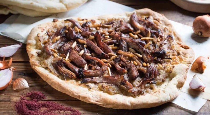 وجبة شهية: المسخن مع البصل