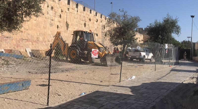 القدس : مشروع اسرائيلي بالقرب من المقبرة اليوسفية