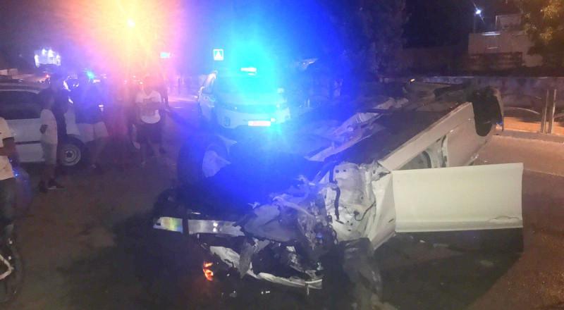 الزرازير: حادث طرق بين سيارتين واصابة بالغة لشاب