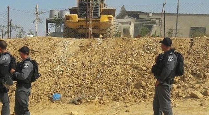 إسرائيل تهدم العراقيب للمرة 115