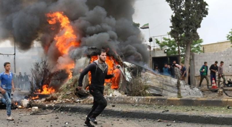 شهداء وجرحى بتفجير إرهابي في مدينة حماة السورية!