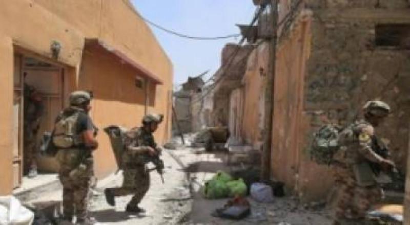 القوات العراقية تضيق الخناق على