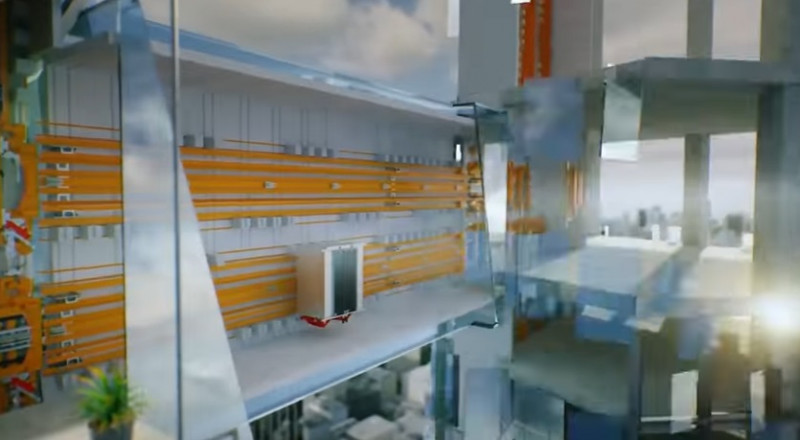 أول مصعد في العالم دون أسلاك يعمل بالدفع المغناطيسي!