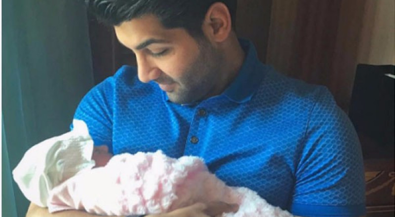 إبراهيم دشتي يُرزق بمولودة جديدة (صورة)