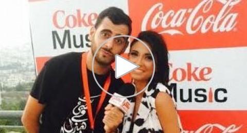 لينا مخول تحدثنا عن جديدها و-Coke Music