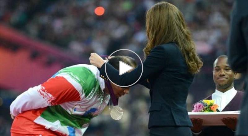 اولمبيادة لندن..رياضي إيراني يرفض  مصافحة زوجة الأمير وليام