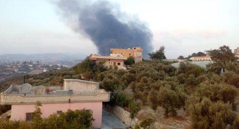 الدفاعات الجوية السورية تتصدى لصواريخ إسرائيل قرب حماه
