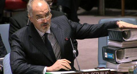الجعفري: معلوماتنا تؤكد تخطيط قوى الإرهاب لمسرحية كيماوية جديدة في ادلب بدعم أمريكي