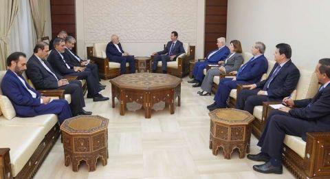 الأسد وظريف يبحثان جدول أعمال القمة الثلاثية بين روسيا وإيران وتركيا