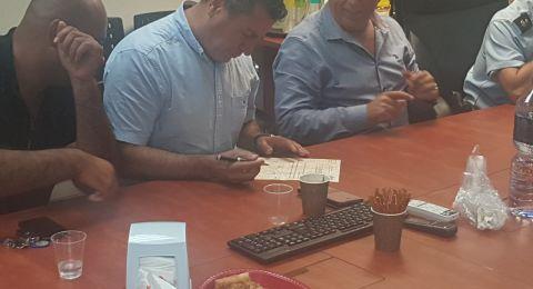 لقاء يجمع مرحي الطيبة والشرطة للحفاظ على انتخابات نزيه