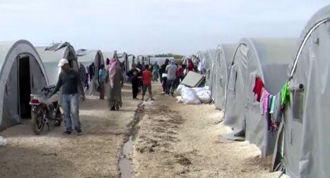 عودة أكثر من 450 نازحا سوريا خلال يوم
