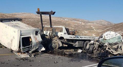 قتيل وعدد من الإصابات بحادث طرق قرب نابلس