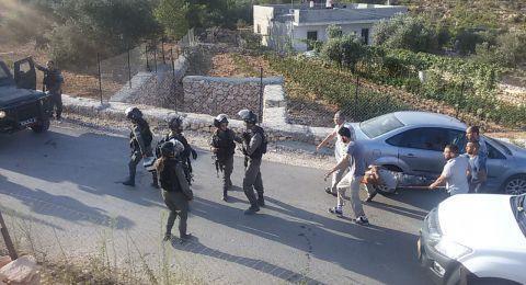 إصابات خلال هدم الاحتلال منازل بالولجة غرب بيت لحم