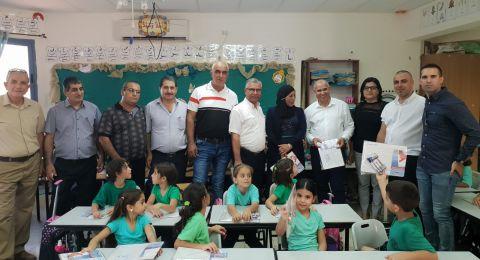 بستان المرج: افتتاح ناجح للسنة الدراسية، وتطلعات لعام دراسي مميز، وإدارة المجلس تستقبل الطلاب