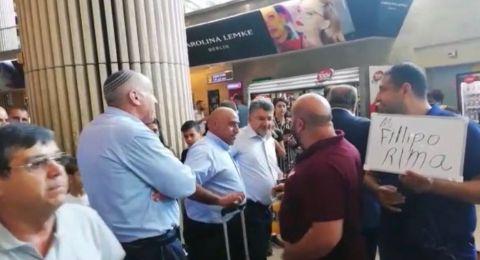 مواجهة بين يوغيف والنوّاب العرب في مطار اللد