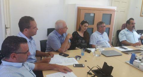 لجنة التربية والتعليم تجتمع مع مدير عام الوزارة