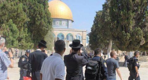 تحذيرات من إقامة احتفال تهويدي غدا جنوب المسجد الأقصى