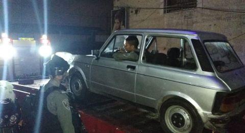 الشرطة تنجح بإعادة سيارة كلاسيكية لاصحابها بعد ان سُرقت