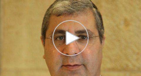 تلّ أبيب: المحامي رضا جابر يحتجّ ضدّ العنف بمداخلة في مؤتمر افتتاح السنة القضائية