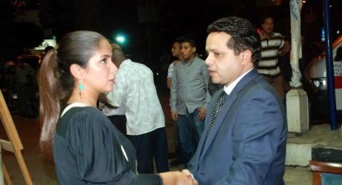 نجوم الفن والرياضة في عزاء والدة محمد هنيدي