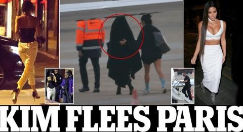 هكذا هربت كيم كارداشيان من باريس بعد تعرضها للسرقة