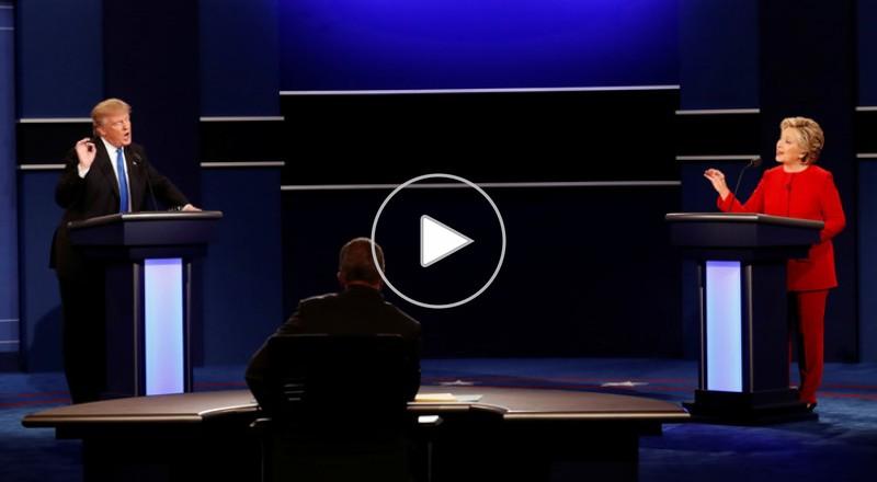 فضائح تلاحق كلينتون وترامب عشية مناظرتهما الثانية