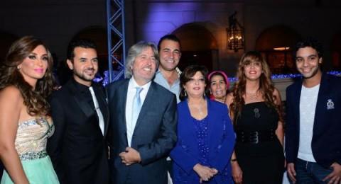 عرض أزياء لبناني في القاهرة بحضور سامو زين وأحمد جمال