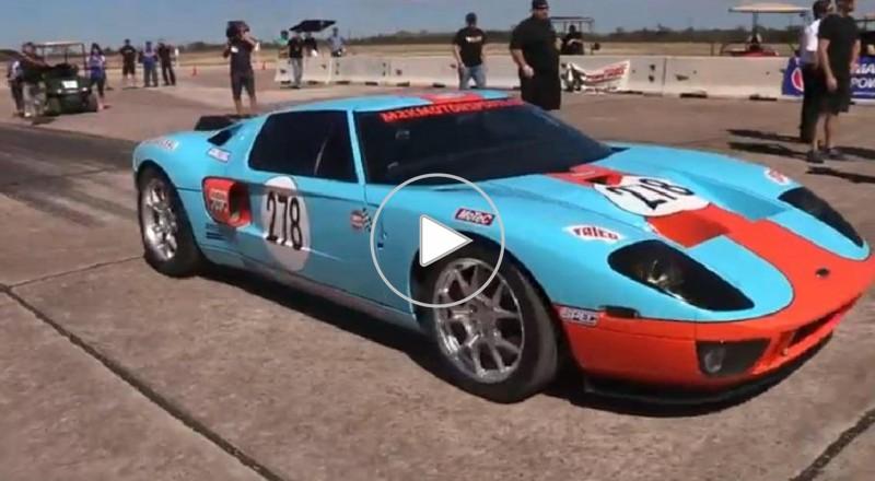 فيديو .. فورد جى تى تنتزع لقب أسرع سيارة في العالم من بوجاتى فيرون