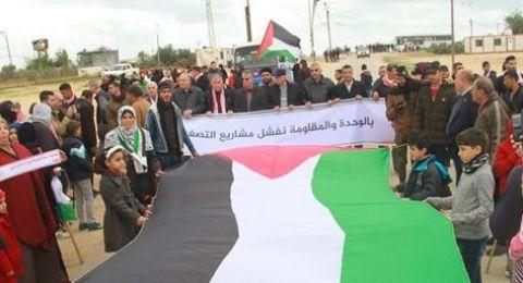غزة: بدء توافد المواطنين الى الحدود الشرقية للقطاع