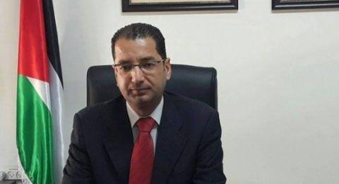 عليان : منع دخول الأمن الفلسطيني لضواحي القدس جزء من الحرب الإسرائيلية على السيادة