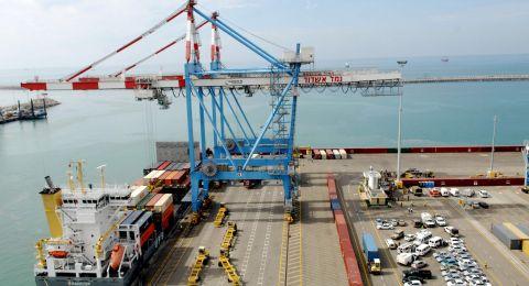 التصدير الإسرائيلي بتصاعد مستمر
