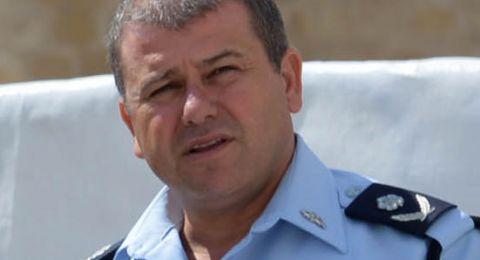 موشيه أدري يعلن عن سحب ترشحه لمنصب المفتش العام للشرطة