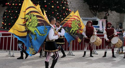 افتتاح سوق الميلاد الثامن عشر في بيت لحم