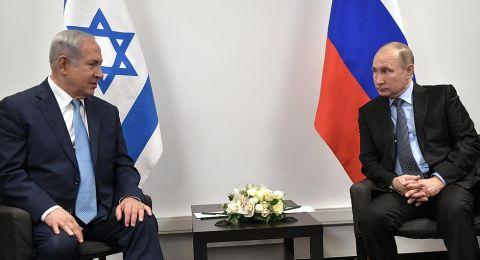 بوتين يؤكد لنتنياهو ضرورة الحفاظ على استقرار الحدود الإسرائيلية اللبنانية