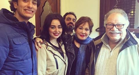 الفخراني يحتفل بخطوبة هبة مجدي ومحمد محسن
