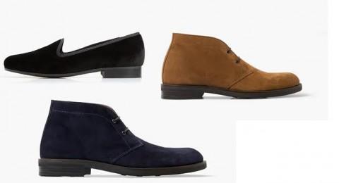 تصميمات أحذية أنيقة للرجل العصري من مانجو
