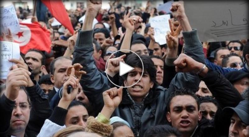 تونس - صور اللحظات الأولى بعد اغتيال شكري بلعيد