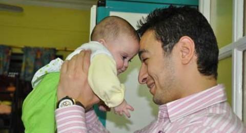 حمادة هلال يحتفل مع دار الأورمان بيوم اليتيم !