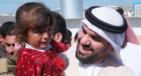 حسين الجسمي: زيارتي لكردستان من أجل النازحين