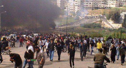 مغاربة يواصلون احتجاجاتهم تضامنًا مع الشعب الفلسطيني