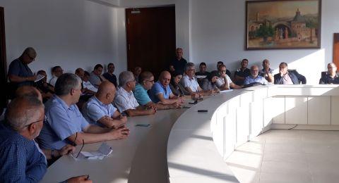 الناصرة: تأجيل جلسة المجلس البلدي لاشعار آخر