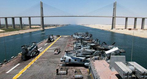 هل تفكر إسرائيل في منافسة قناة السيوس المصرية؟