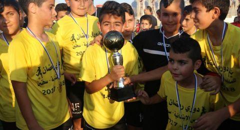 مدرسة النجاح الابتدائية تفوز بكأس مونديال رمضان والذي نظمه قسم الشبيبة في بلدية سخنين