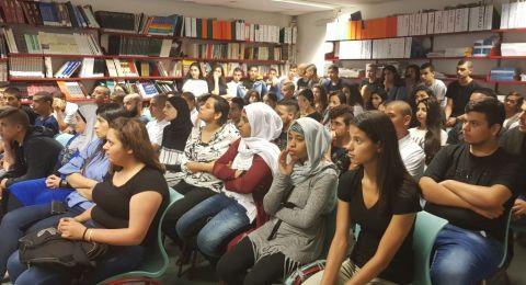 مدرسة المتنبّي في حيفا تستضيف رامي غضبان ضمن التثقيف المروريّ