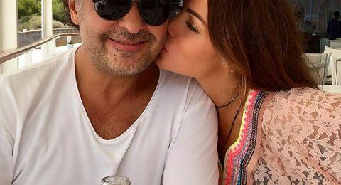 قبلة جيهان لراغب علامة تشعل الشبكات… ومفاجأته محاطاً بالنساء