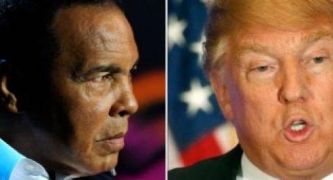 ترامب: سأصدر عفو رئاسي عن الملاكم محمد علي كلاي